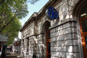 スプリット駅の入口